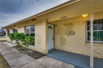Mesquite Single Family Home For Sale: 2402 Loyce Drive