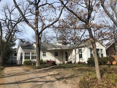 Single Family Home For Sale: 1233 Woodlawn Avenue
