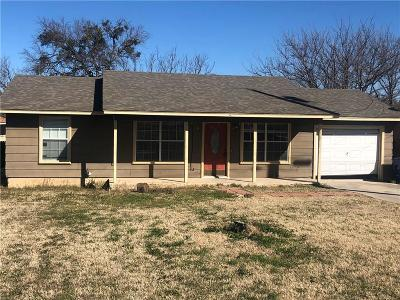 Brownwood Single Family Home Active Option Contract: 3402 Golding Road