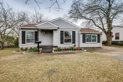 Rockwall Single Family Home Active Option Contract: 103 Glenn Avenue