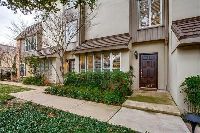 Dallas County Condo For Sale: 3314 Hawthorne Avenue