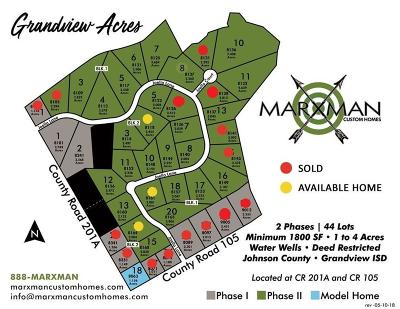 Grandview Residential Lots & Land For Sale: 8140 Joella Lane