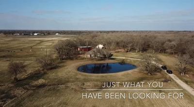 Cedar Creek Lake, Athens, Kemp Farm & Ranch For Sale: 6010 County Road 4068