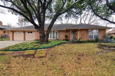 Fort Worth Single Family Home For Sale: 6532 Winifred Drive