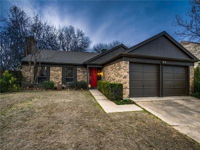 Flower Mound Single Family Home For Sale: 5105 Timber Creek Road