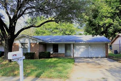 Denton Single Family Home Active Option Contract: 2102 Westwood Drive