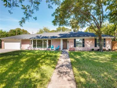 Farmers Branch Single Family Home For Sale: 3061 Primrose Lane