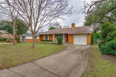 Dallas County Single Family Home For Sale: 5106 W Mockingbird Lane