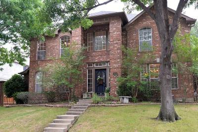 Coppell Single Family Home Active Option Contract: 636 Autumnwood Lane