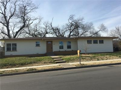 Fort Worth Single Family Home For Sale: 3000 Pate Drive