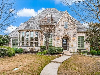 McKinney Single Family Home Active Contingent: 1705 Stoneoak Drive