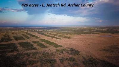 Archer County Farm & Ranch For Sale: 1735 E Jentsch