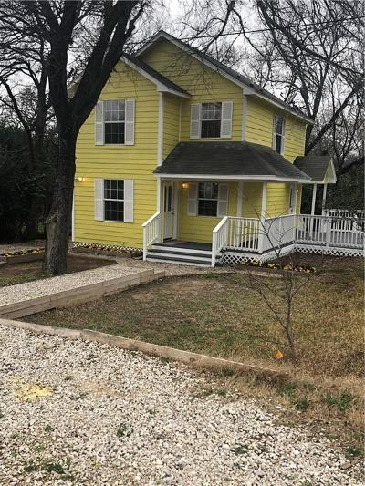 Seagoville Single Family Home Active Option Contract: 506 Dice Street