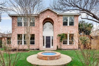 Allen Single Family Home Active Contingent: 1533 Harvest Run Drive
