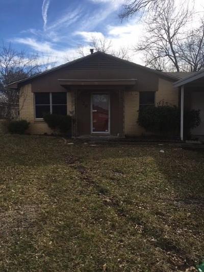 Mesquite Single Family Home For Sale: 1720 Longview Street