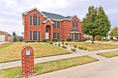 Sachse Single Family Home For Sale: 7319 Crane Drive