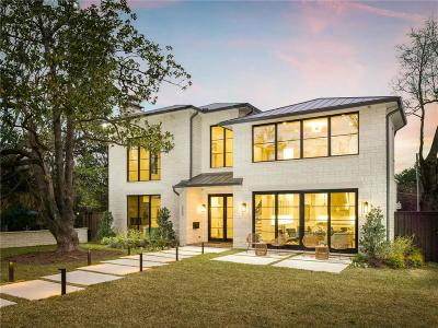 Dallas County Single Family Home For Sale: 7202 Lakewood Boulevard