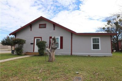 Brownwood Single Family Home For Sale: 1200 Brady Avenue