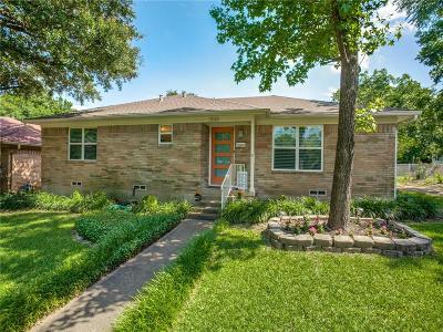 Dallas Single Family Home For Sale: 3540 Burlingdell Avenue