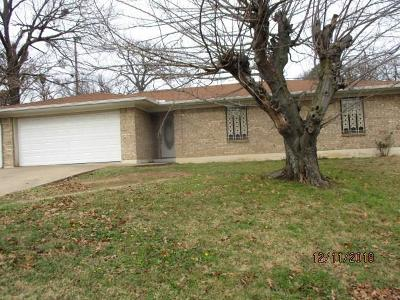 Denison Single Family Home For Sale: 1831 W Monterey Street