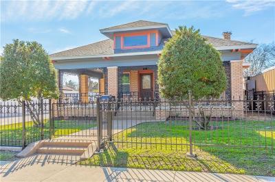 Dallas Single Family Home For Sale: 919 Mount Auburn Avenue