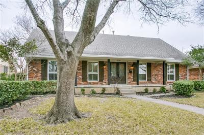 Dallas Single Family Home For Sale: 12318 Brookmeadow Lane