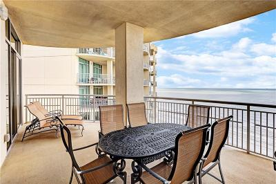 Galveston County Condo For Sale: 801 E Beach Drive #TW2203