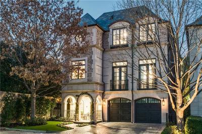 Dallas County Single Family Home For Sale: 3901 Turtle Creek Boulevard #10