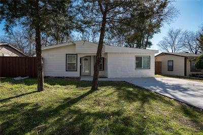 Farmers Branch Single Family Home Active Contingent: 2514 Greenhurst Drive