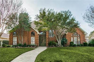 Plano Single Family Home Active Option Contract: 3320 Riley Drive