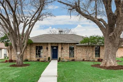 Lewisville Single Family Home For Sale: 1605 Solway Drive