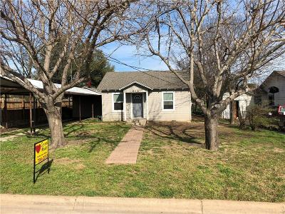 Hico Single Family Home For Sale: 611 Kirk