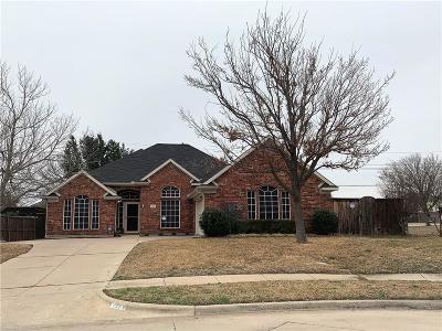 Lewisville Single Family Home Active Option Contract: 2113 Oak View Place