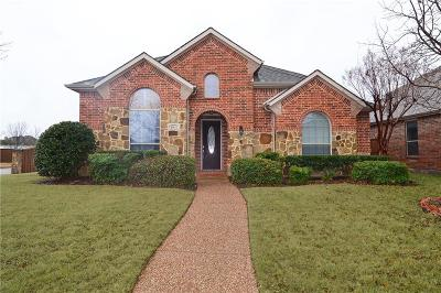 Allen Single Family Home For Sale: 1901 Kirby Lane