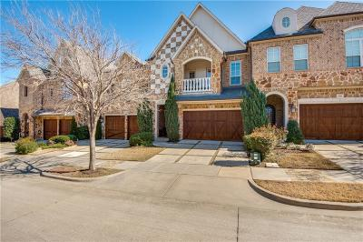 Carrollton Townhouse For Sale: 4260 Haskell Drive