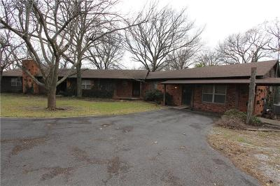Archer County, Baylor County, Clay County, Jack County, Throckmorton County, Wichita County, Wise County Single Family Home For Sale: 2600 S College Avenue