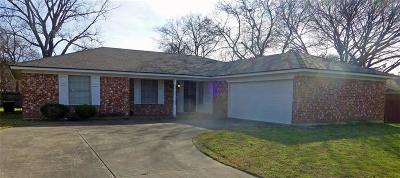North Richland Hills Single Family Home Active Option Contract: 8812 Main Street