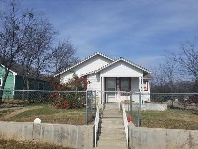 Fort Worth Single Family Home For Sale: 5500 Wellesley Avenue