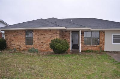 Waxahachie TX Single Family Home For Sale: $149,900