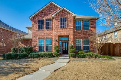 Frisco Single Family Home Active Option Contract: 11203 Outpost Trail