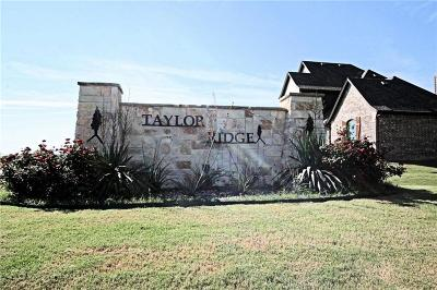 Waxahachie Residential Lots & Land For Sale: 145 Taylor Ridge Drive