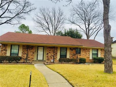Mesquite Single Family Home For Sale: 1416 Meadowcrest Drive