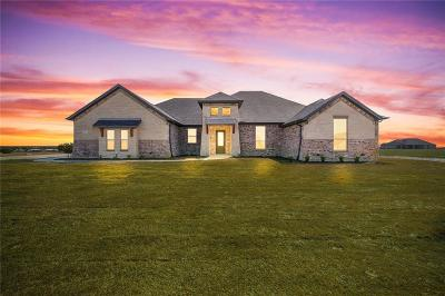 Weatherford Single Family Home For Sale: 1054 Pilgrim Trail