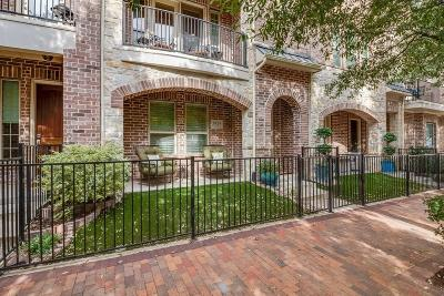 Addison Townhouse For Sale: 5029 Calloway Drive