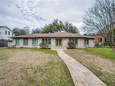 Single Family Home For Sale: 5631 Brookstown Drive