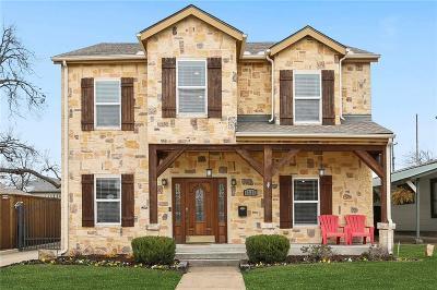 Dallas Single Family Home For Sale: 6331 Lakeshore Drive