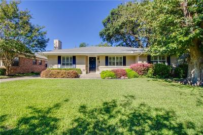 Dallas Single Family Home For Sale: 6415 Highgate Lane