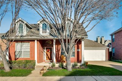 Irving Single Family Home Active Option Contract: 8828 Crescent Court