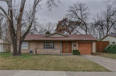 Farmers Branch Single Family Home For Sale: 13425 Mount Castle Drive