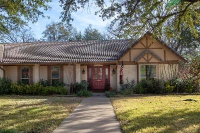 Colleyville Single Family Home Active Option Contract: 3705 Sweetbriar Lane